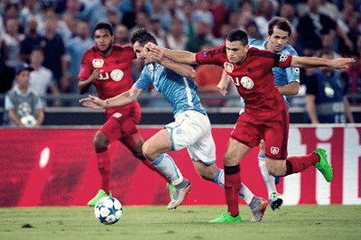Prediksi Leverkusen vs SS Lazio, Streaming Bein Sports 2 UCL 27-08-2015