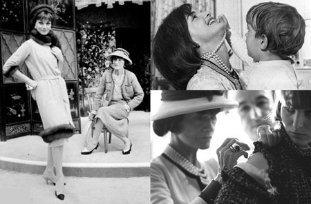 Coco Chanel and Jackie Kennedy