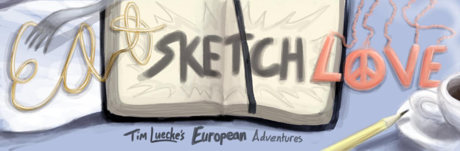Eat Sketch Love: Tim Luecke's European Adventures