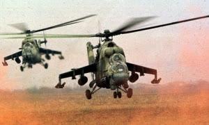Lebanon Tembak Helikopter Suriah