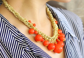 Amrita Singh Coral Necklace