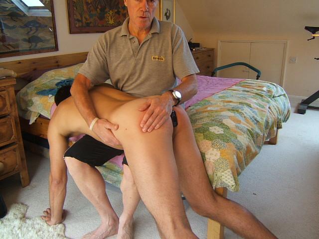 Correct way to spank