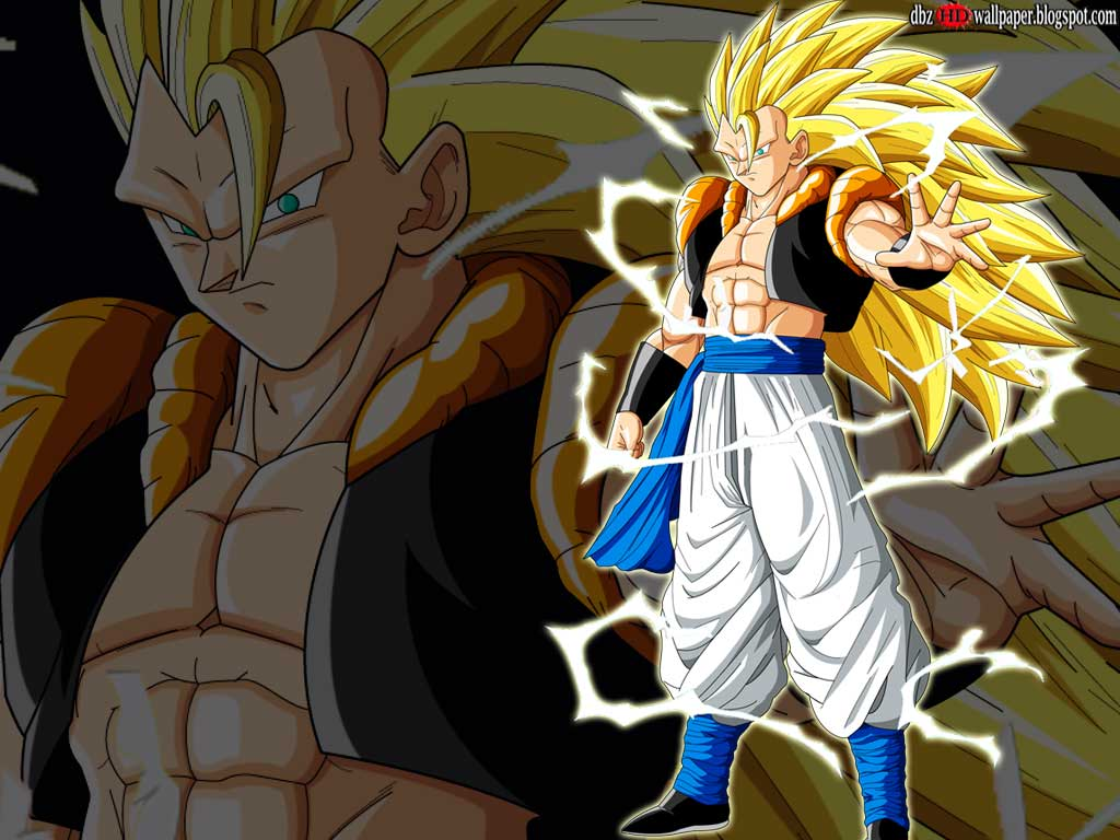Goku And Vegeta Gogeta Super Saiyan 3 002 Wallpapers