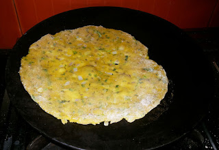 Roast Roti On Tawa