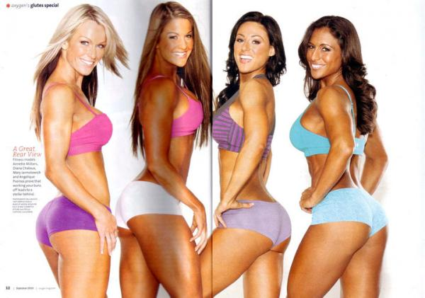 Gorgeous Glutes Magazine Muscles http://phoenix-luv.blogspot.com/2012/04/creating-beautiful-booties.html