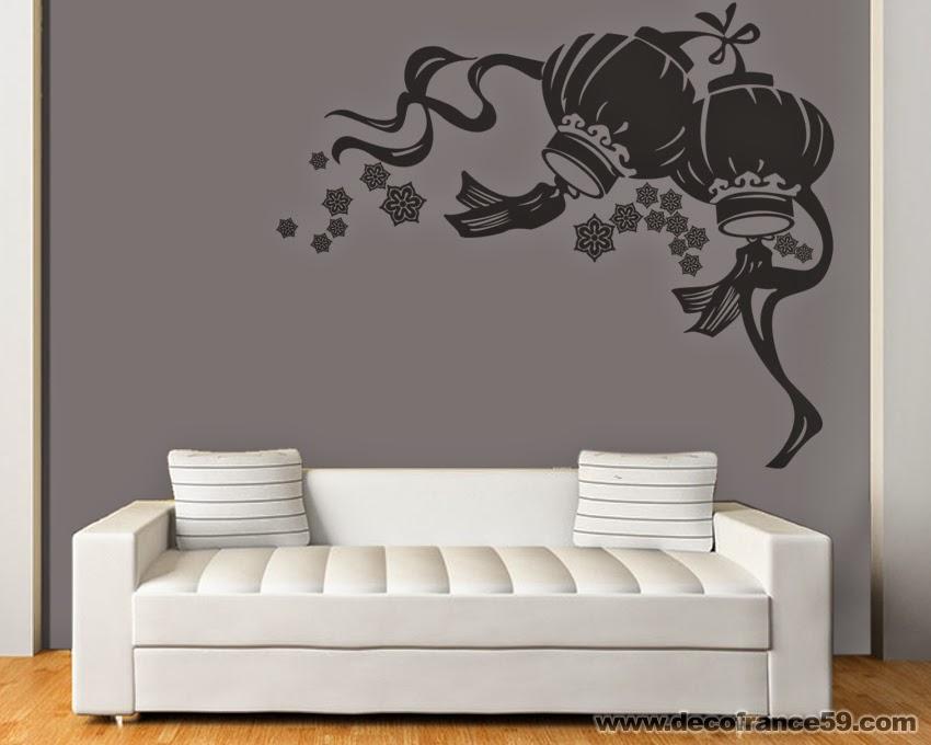 Decofrance59 vente en ligne de stickers muraux for Decoration murale japonaise