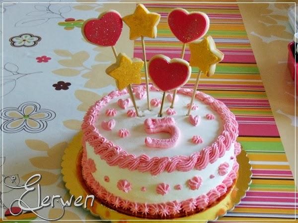 buon compleanno elena: 5 anni