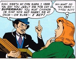 Lois Lane and FrenchyMcFrenchalot Have Words