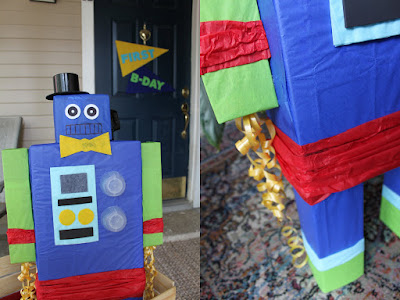 Build From Recycled Materials For Kids Birthday Party