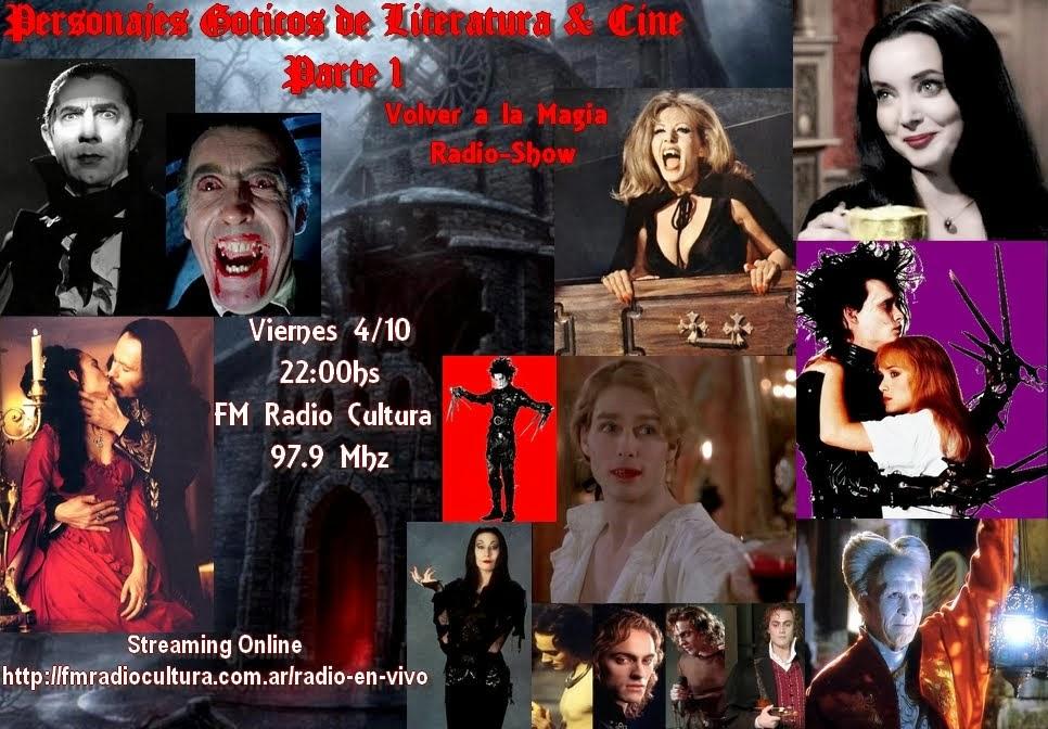 Personajes Goticos Literarios y Cinematograficos de Ayer y Hoy   Parte 1