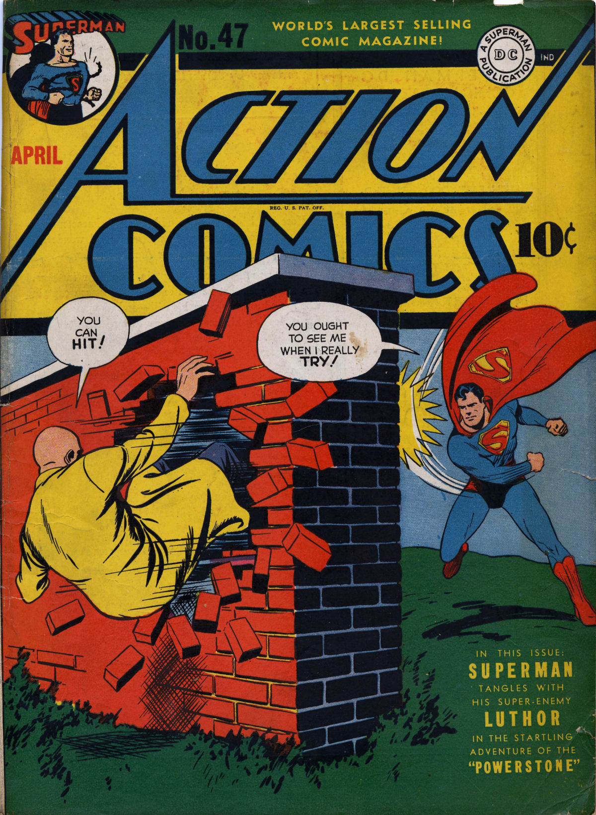 Action Comics (1938) 47 Page 1