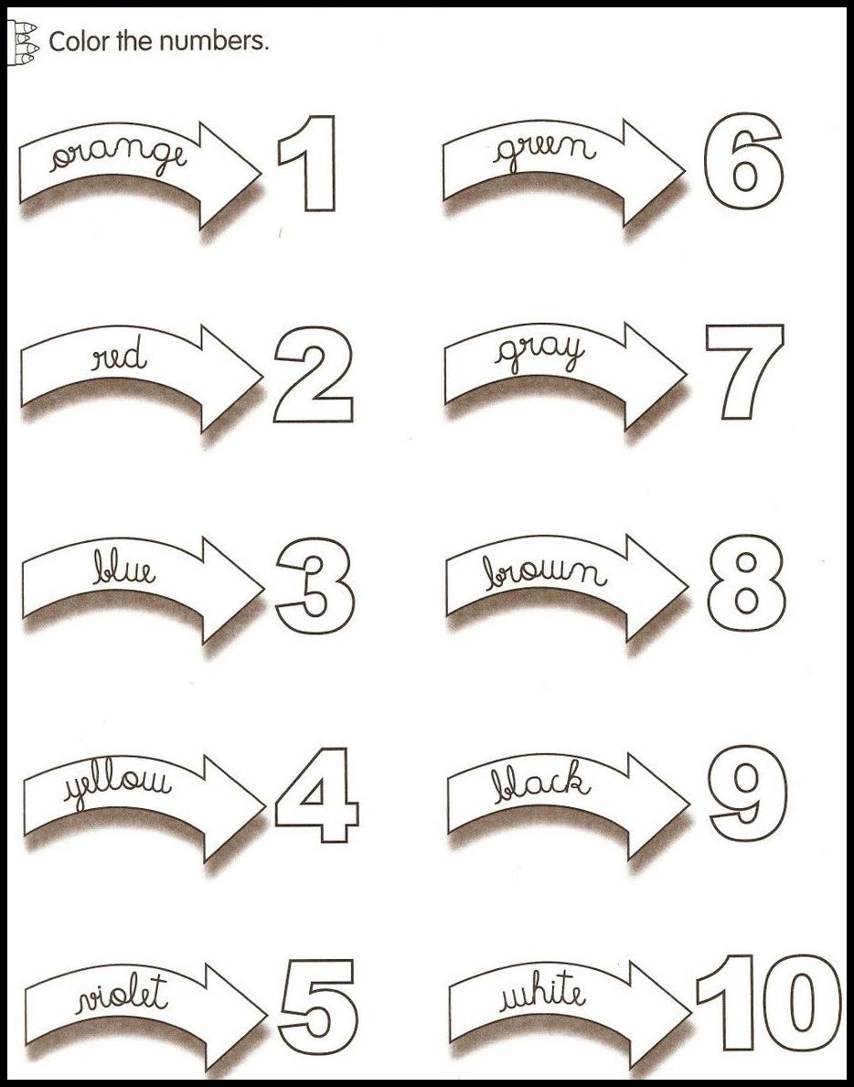pre school worksheet