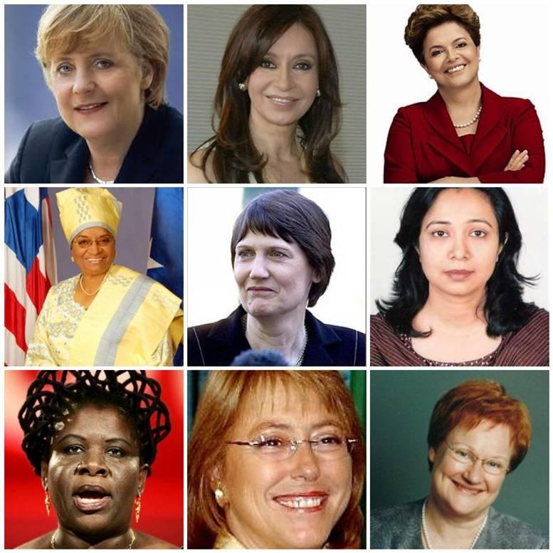 mujeres que participan en la politica: