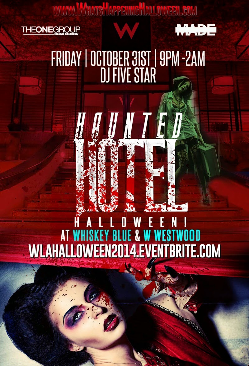 """Halloween at W Westwood Los Angeles Halloween Tickets"""
