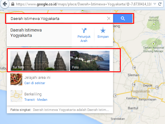Layanan Google Street View Merambah Indonesia