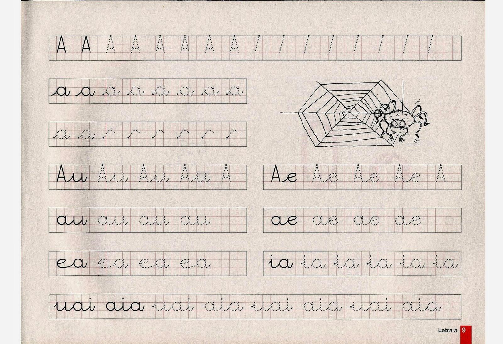 Atividades prontas para imprimir Atividades de caligrafia das