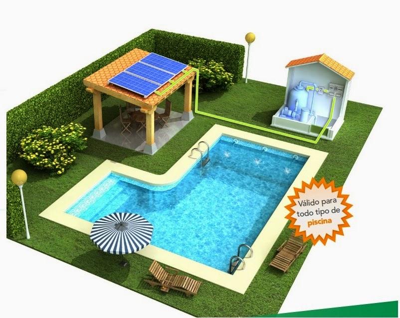 Yubasolar sistema de bombeo fotovoltaico para depuradora for Sistema ultravioleta para piscinas