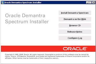 click install demantra spectrum