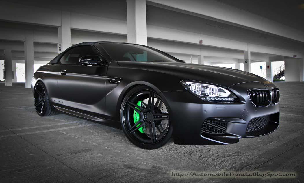Automobile Trendz Matt Black Bmw On Adv Wheels