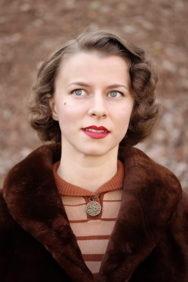 My Warm and Cozy Vintage Winter #vintage #winter #fashion #1940s #coat