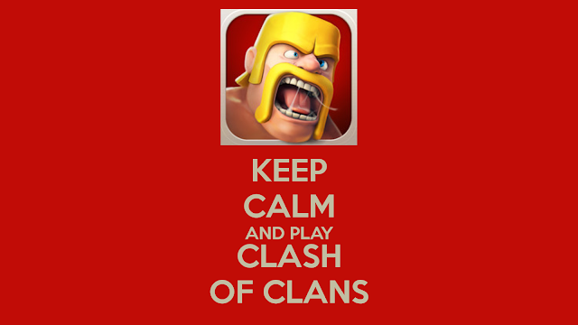 10002-Barbarian Keep Calm and Play Clash of Clans HD Wallpaperz