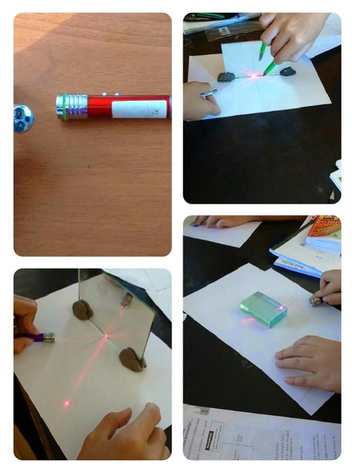 Idea P&P Sains : Mengkaji Ciri-Ciri Cahaya