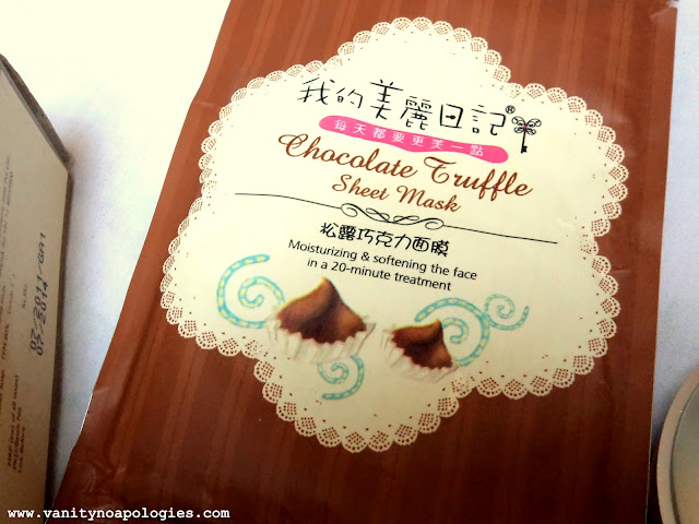 chocolate truffle mask