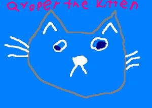 Go read Qyoper the Kitten!