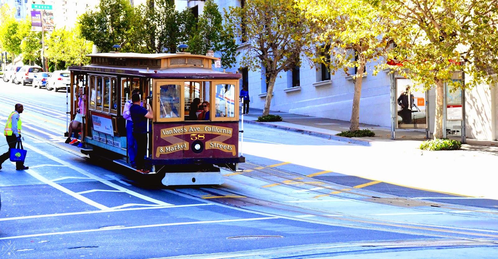 Cable Car - San Francisco, Californie, USA