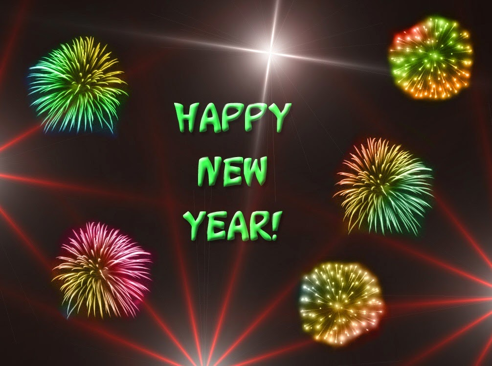 Happy New Year 2015 Animated 3D Wallpapers