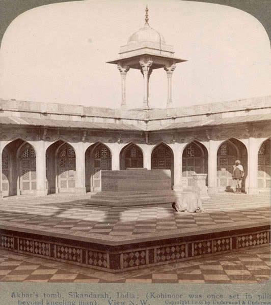 நூறு ஆண்டுகளுக்கு முன்பு ! Akbar%27s+tomb+Sikandra