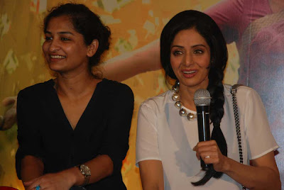 Sridevi with Gauri Shinde