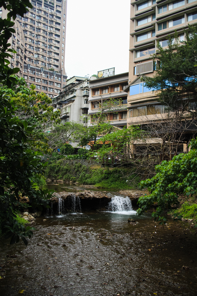river in Beitou