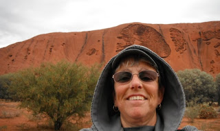 Roxie at Uluru, Copyright 2012, Rev. Dr. Roxie Hart, used with permission