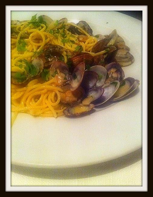 Trattoria Soprano, spaghetti z owocami morza