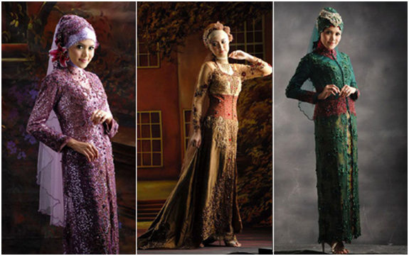Model 3.  Kebaya Hijab Modern Paling Dicari