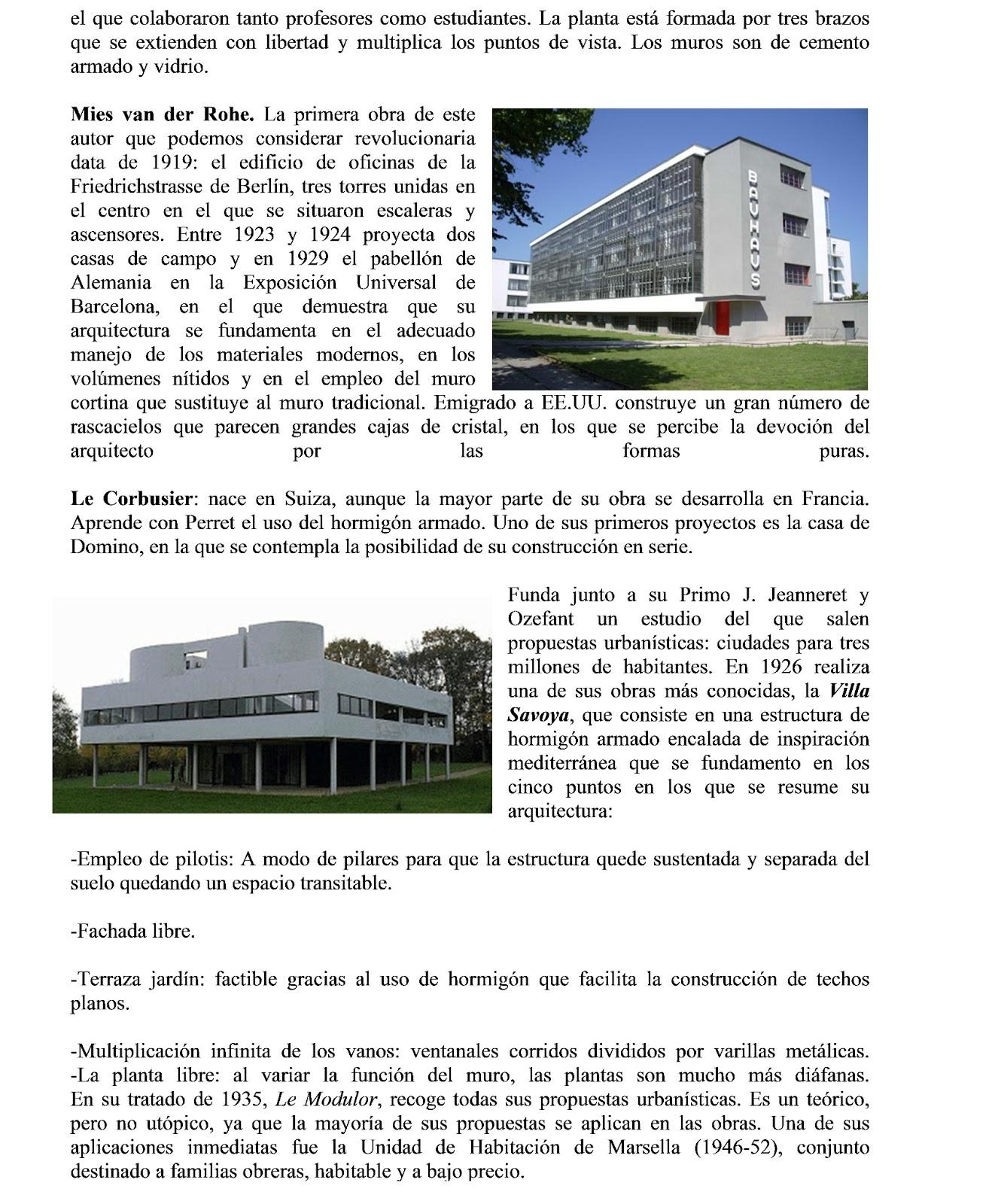 Blog del prof fernando gonz lez arquitectura del siglo xx for Blog de arquitectura