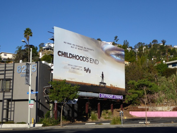 Childhoods End miniseries billboard