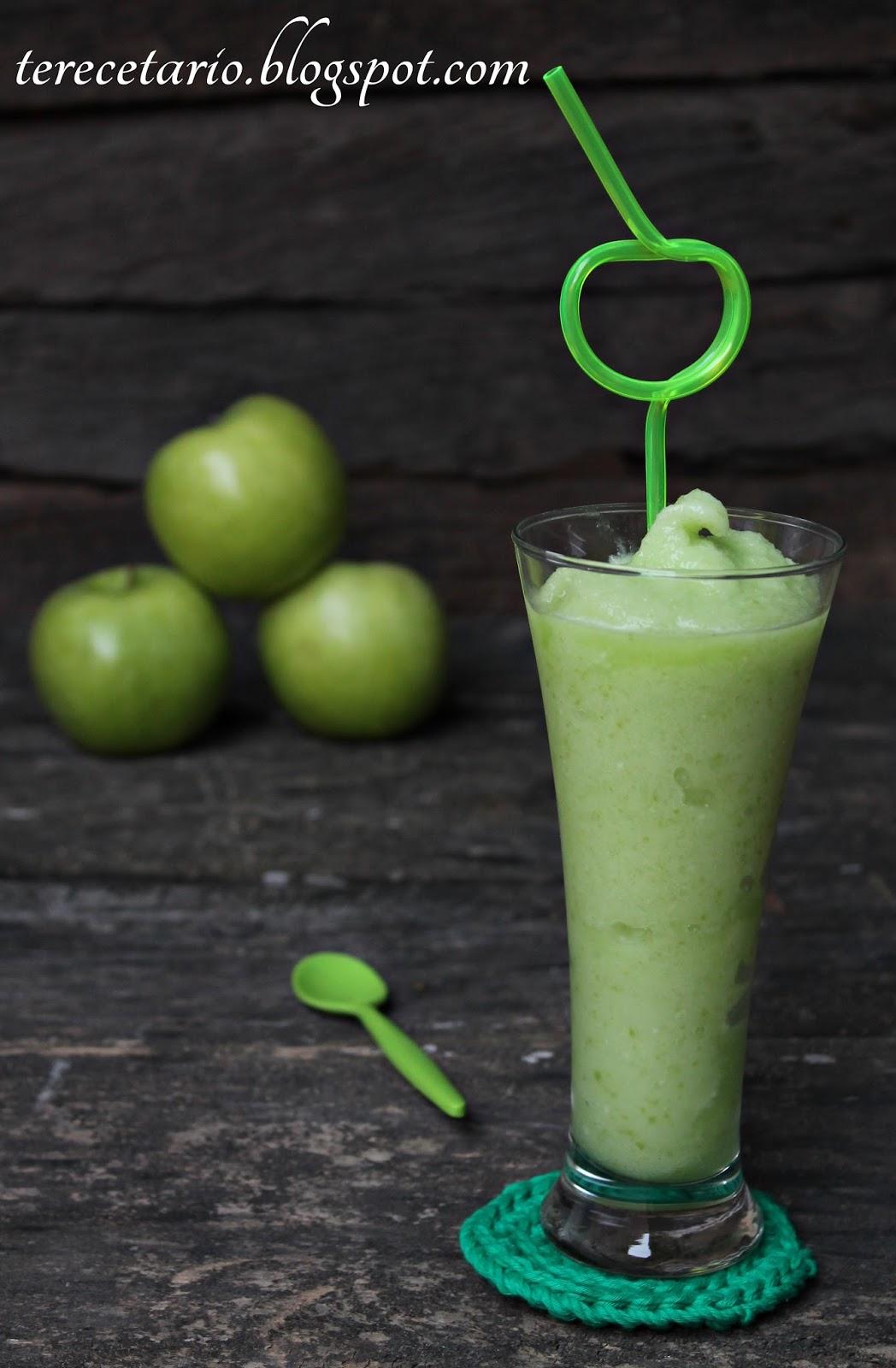 Terecetario sorbete de manzana verde - Sorbete de manzana verde ...