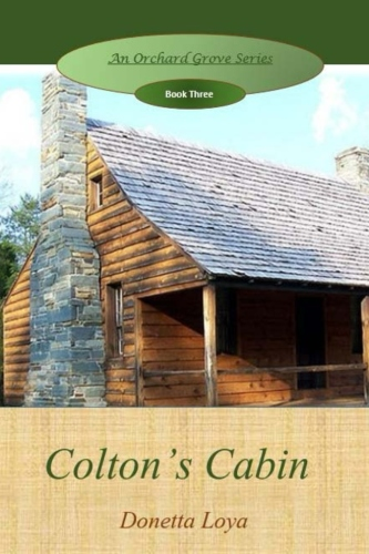 Colton's Cabin  $15.00 printed book.