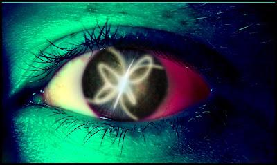 Beautiful Abstract Green eye Designs