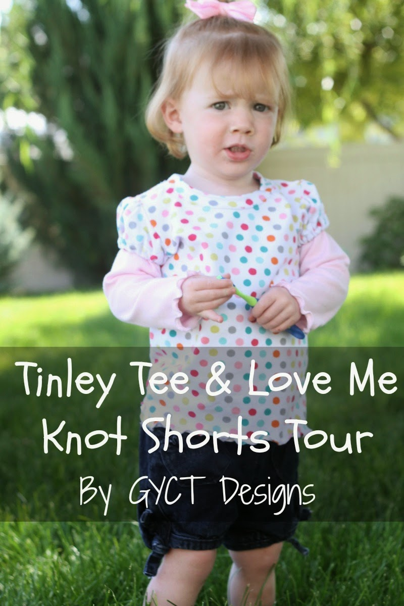 Tinley Tee and Love Me Knot Shorts Tour by GYCT Designs