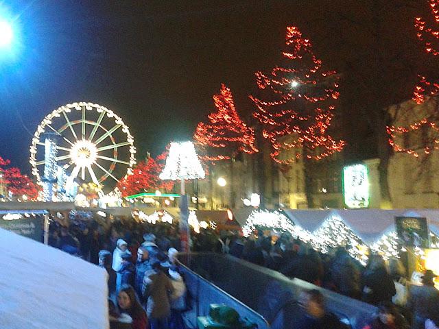 Mercadillo de Navidad en Bruselas