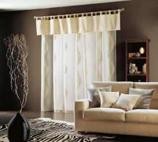 Cortinas para la sala salas con estilo - Cortinas con estilo ...