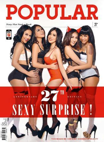 Download Majalah POPULAR Issue No.328 Mei 2015 - Aniversary 27th Edition SEXY SURPRISE! | www.zone.downloadmajalah.com