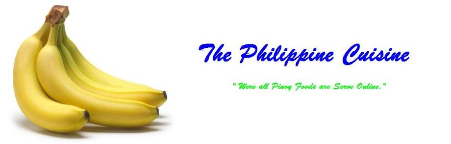 The Philippine Cuisine
