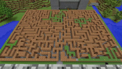 minecraft xbox 360 mini game ideas maze
