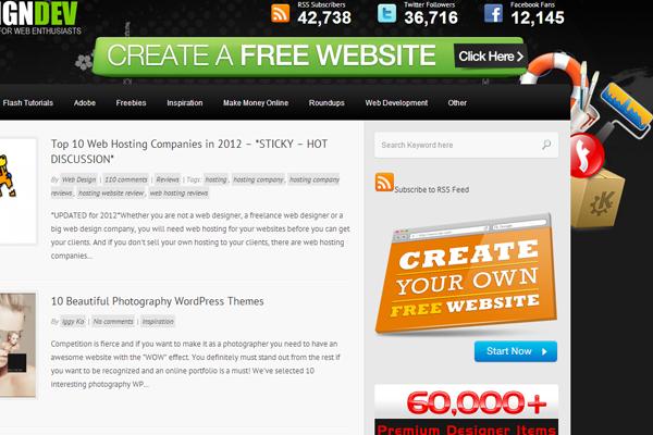Web Design Dev