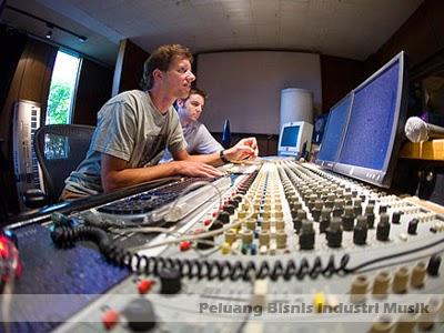 peluang bisnis musik