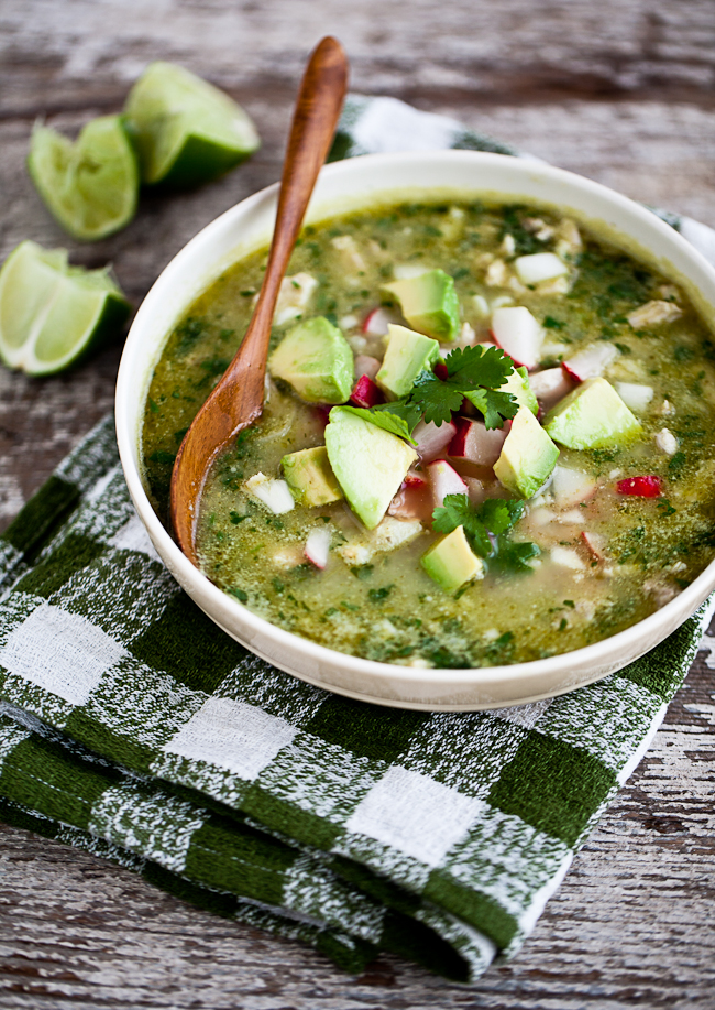 Yummy Supper : IRRESISTIBLE GREEN POZOLE